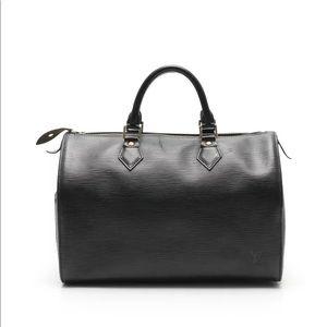 LOUIS VUITTON Speedy 35 Epi handbag